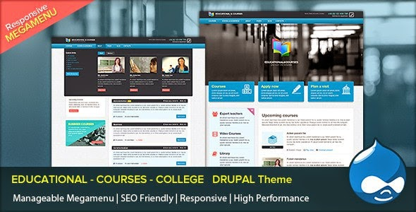 Educational Drupal Theme