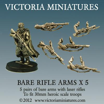 Rifles de Victoria Miniatures