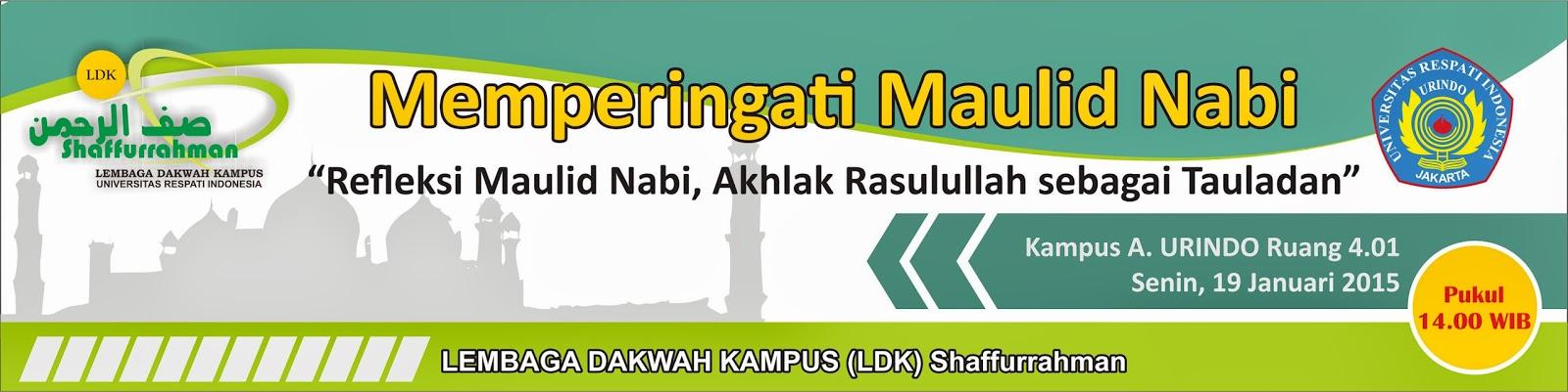 Poster Maulid Nabi Muhammad Saw Dvd Max Data Size