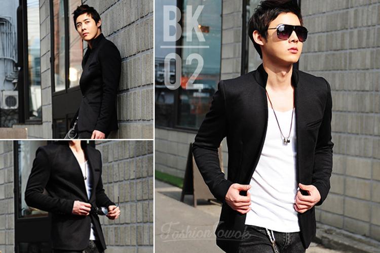 FASHION COWOK | Toko Jaket Online | Jaket Crows Zero | Jaket Korean Style | jual murah Blazer Korean Black Style | Jaket National Geographic