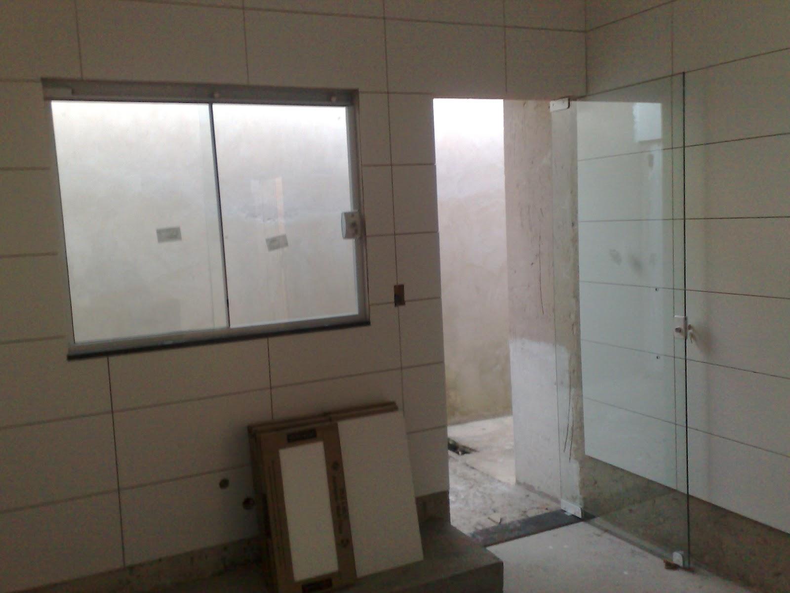 #40382C Passo a passo da construção da minha primeira casa: Maio 2012 42 Janelas De Vidro Cozinha