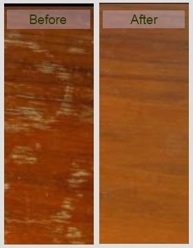 Use a Wood Bleach To Lighten and Remove Stains