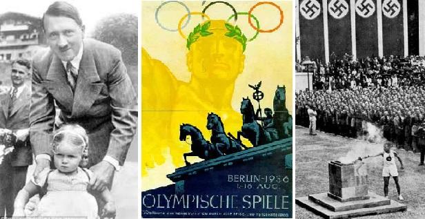 """Έκτακτες κυκλοφοριακές ρυθμίσεις στην Αθήνα για την Ολυμπιακή Φλόγα που υιοθέτησαν  """"έκλεψαν"""" απο την Ναζιστική Γερμανία οι Έλληνες!"""