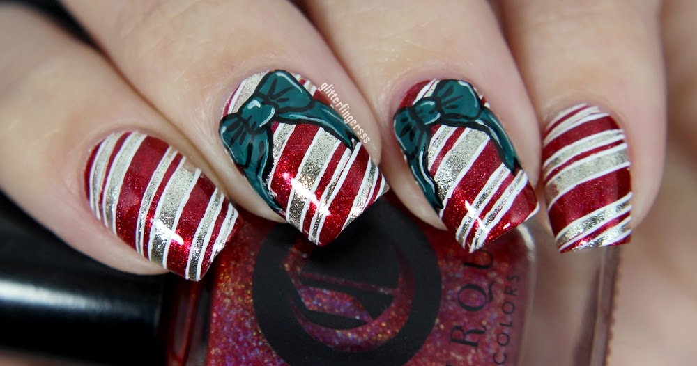 El chapo nail art decals : Festive nail art with cirque colors polishes glitterfingersss
