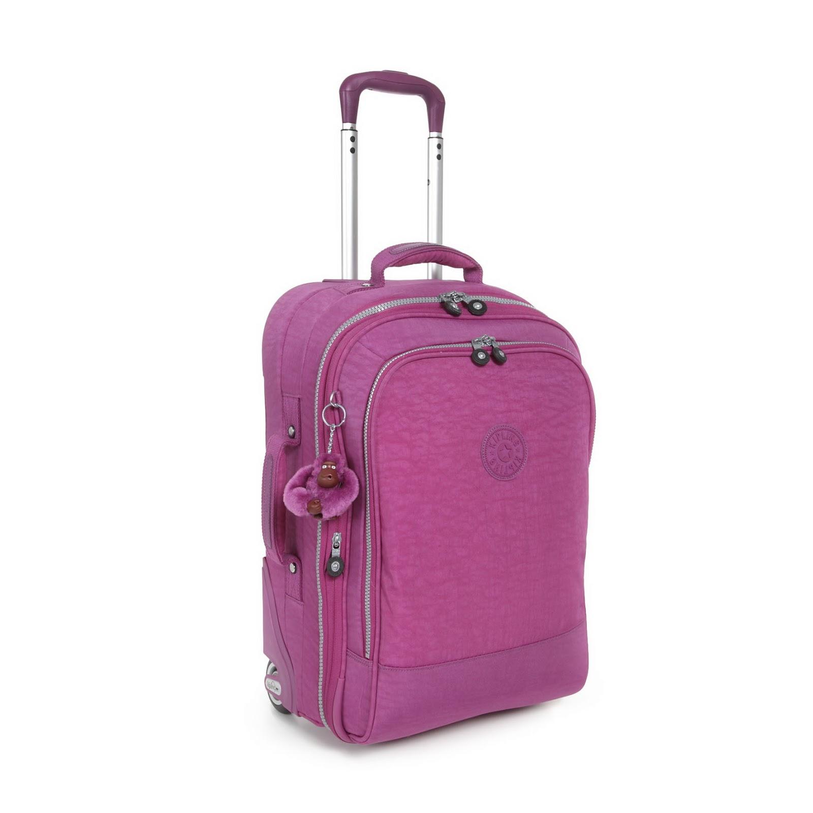 Kipling bags for school with wheels - Kipling Yubin 55 Cabin Size Luggage At 75 Off When You Buy A Kipling