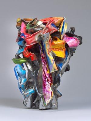 Escultura de John Chamberlain
