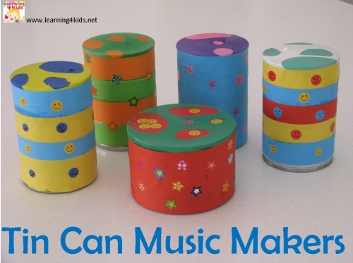make an instrument with kids