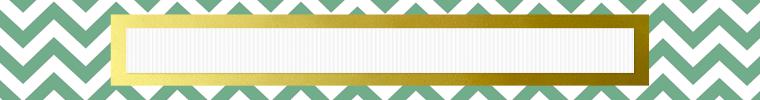 green chevron etsy shop banner