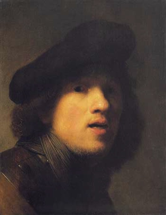 Rembrandt Van Rijn Self Portrait 1629 The Fabulous Birthday ...