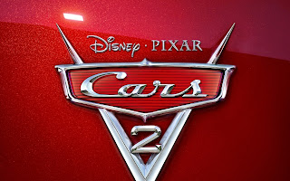 Cars 2 Red Logo wallpaper