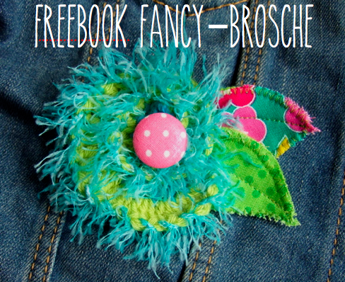 Freebook Brosche