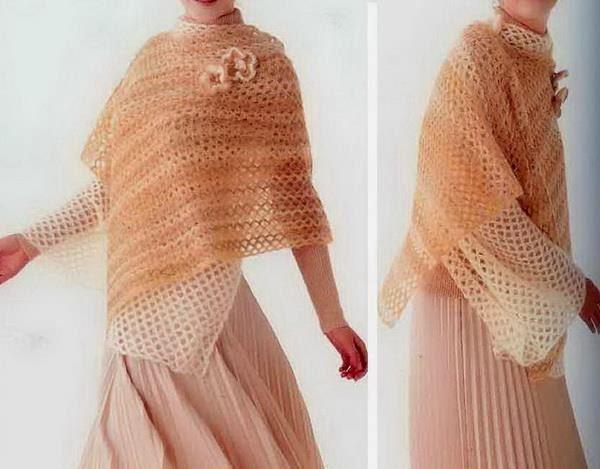 Stylish Easy Crochet: Crochet Poncho Pattern - Wonderful ...