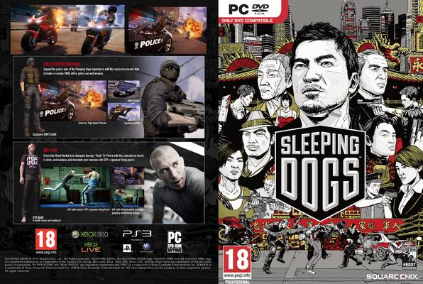 Sleeping Dogs Limited Edition 2012 PC (Windows)