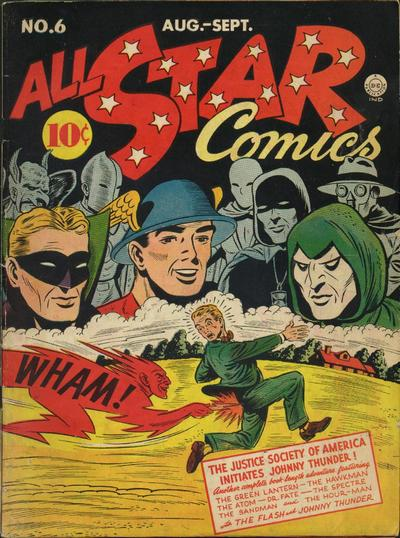 Rip's FAVORITE ALL-STAR COMICS COVER Of The Day!