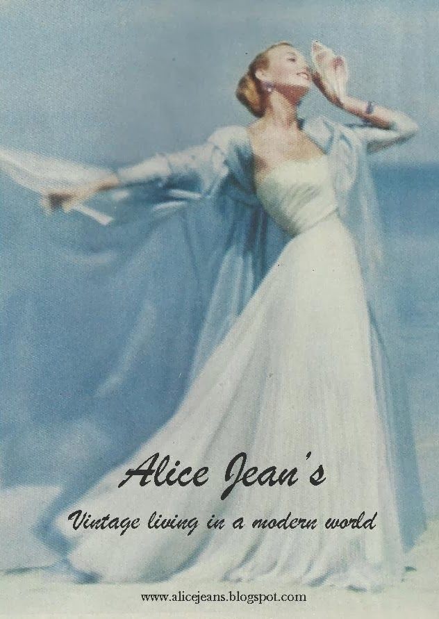 A great escapist read - vintage blog Alice Jean's