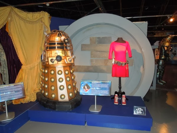 Doctor Who Asylum of the Daleks costume props