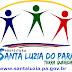 No ar o site oficial da Prefeitura Municipal de Santa Luzia do Pará