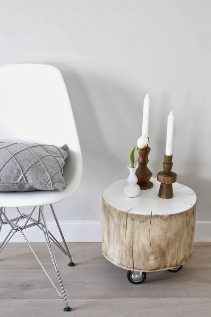 Deco] un toque natural en tu hogar: troncos reciclados – virlova style