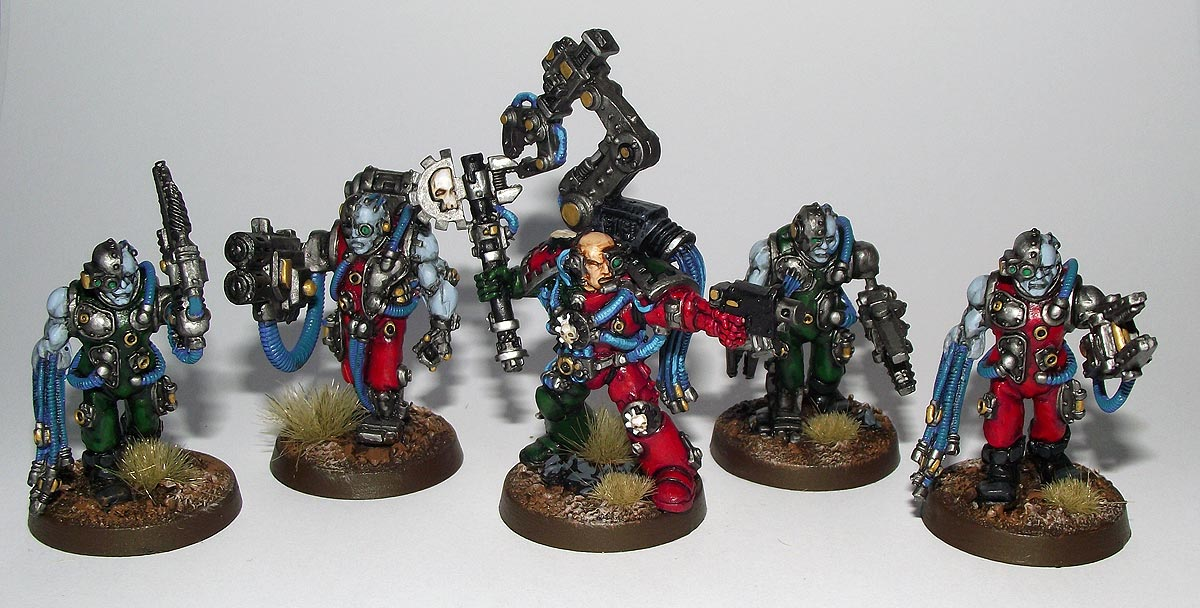 Canister Amp Grape A Website For Wargamers 40k Techmarine