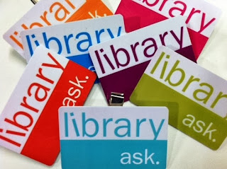 library staff badges