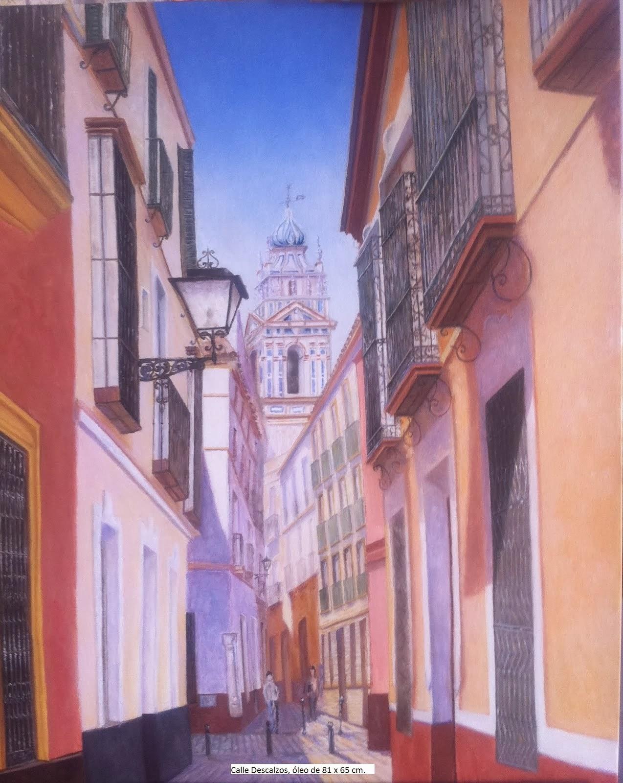 SEVILLA.Calle Descalzos.