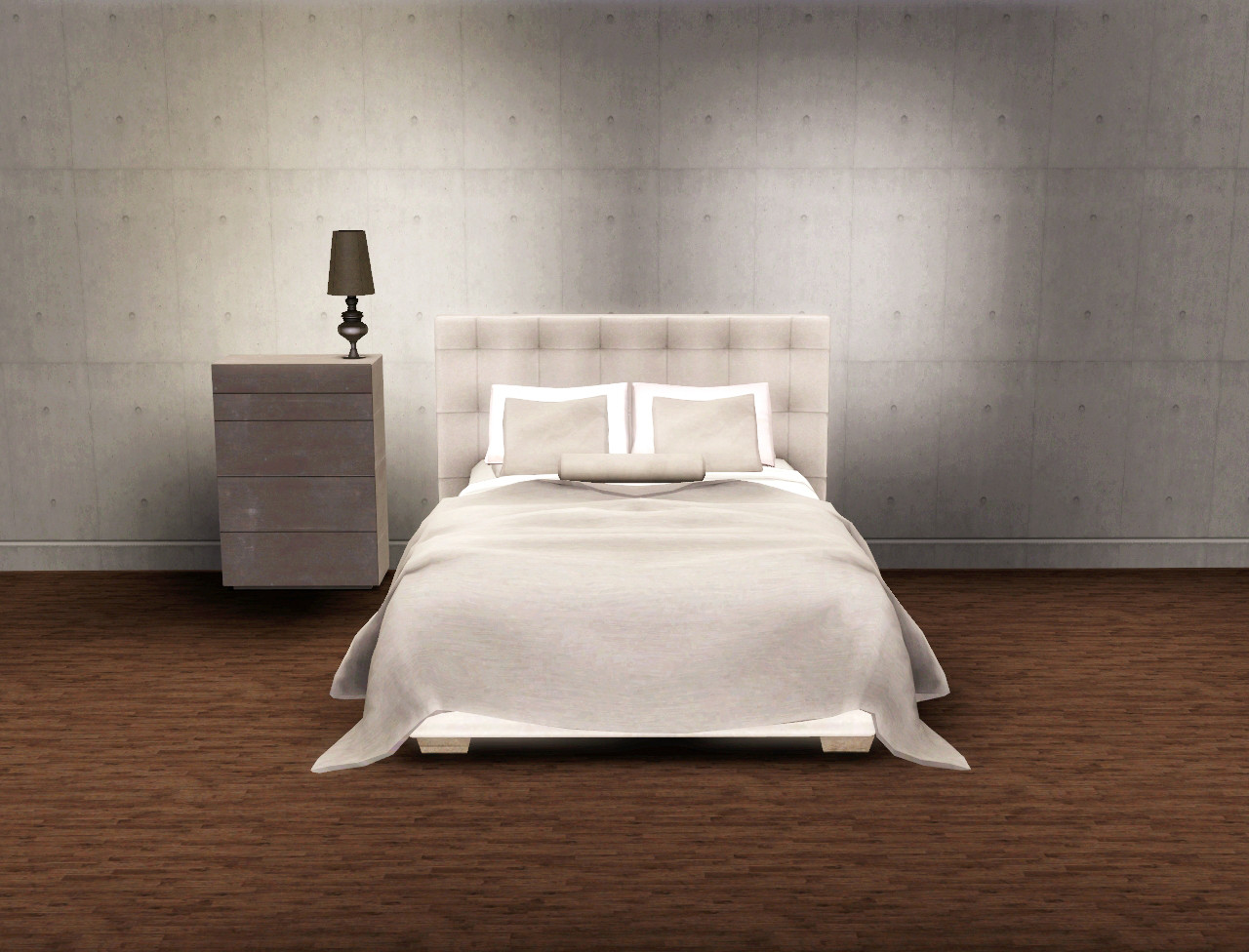 My Sims 3 Blog Paris Quadro Bedroom Set by Esatto Design