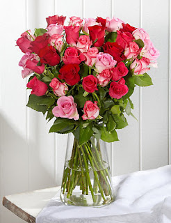 Classic Roses - Hot Mix flowers with price