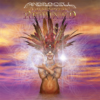 Androcell Entheomythic remixed CD cover