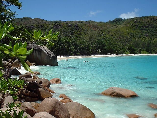 Anze Lazio Beach, Prasin, Seychelles