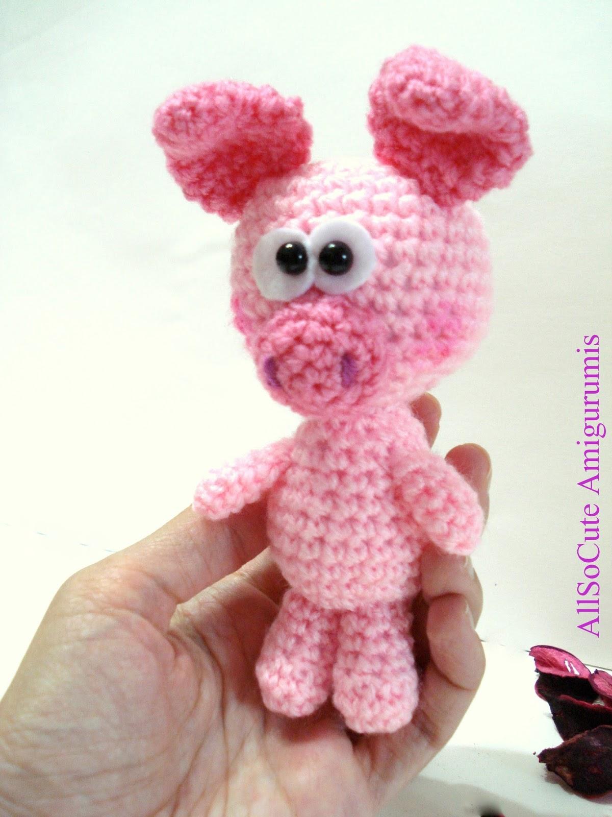 AllSoCute Amigurumis: Crochet Pig, Amigurumi Pig, Baby Pig ...