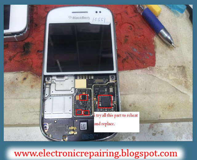 Blackberry 9900 dead/no power solution