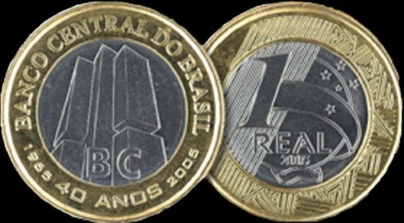 Numis Brazilis: Moedas comuns - versão comemorativa