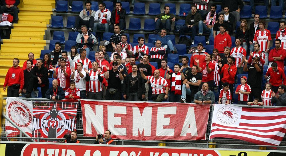 Olympiakos Fans Away