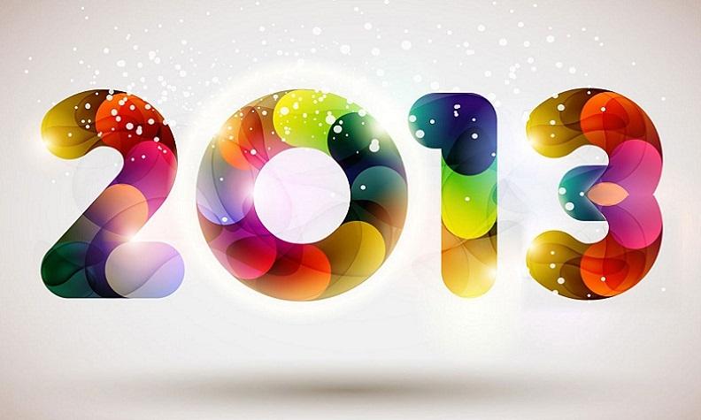 صور راس السنة 2013 - صور خلفيات راس السنة الميلادية 2013 - بطاقات تهنئة راس السنة