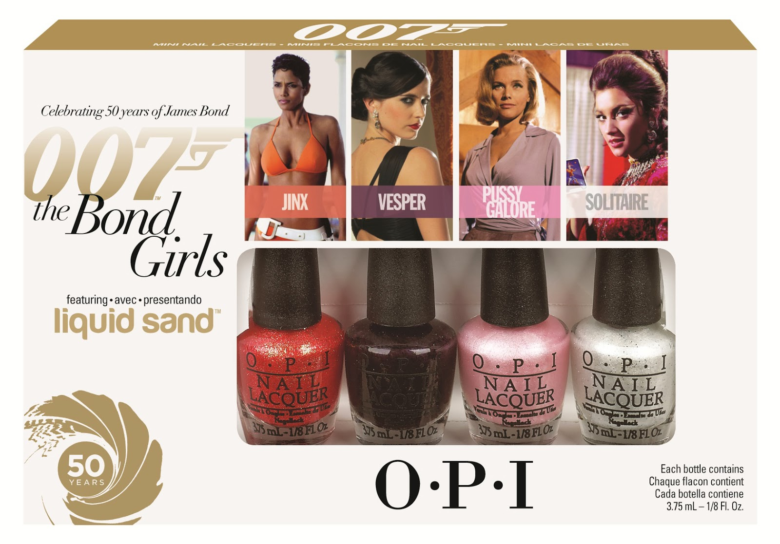 Adicta a los esmaltes: OPI The Bond Girls Collection