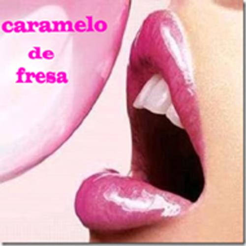 caramelo de fresa