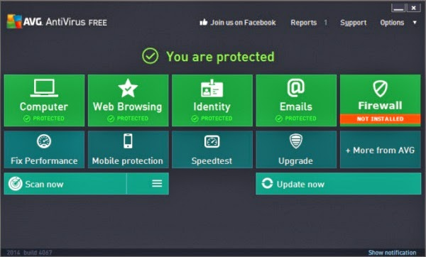 AVG Internet Securtiy 2014 | With Serial Key