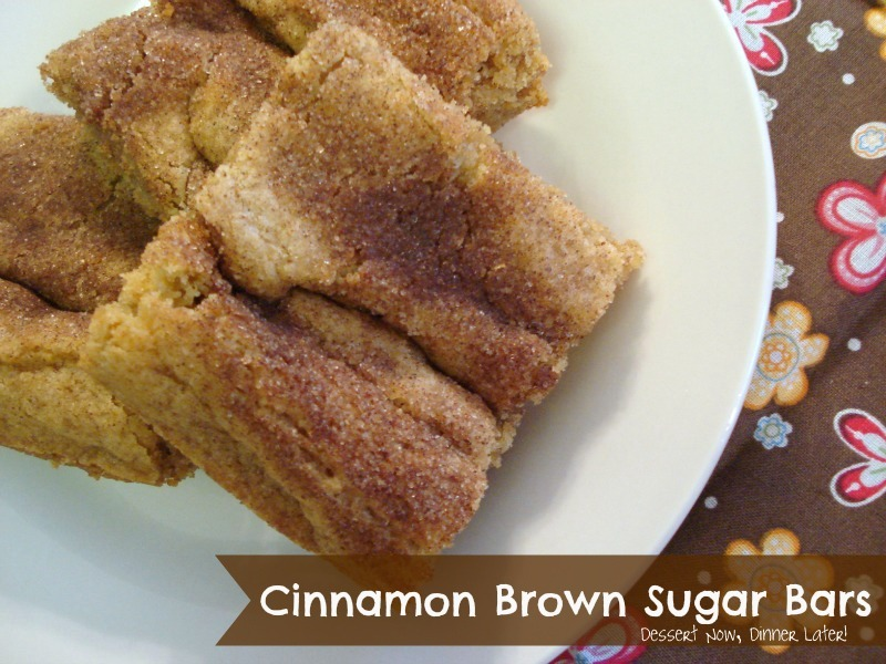 Cinnamon brown sugar bars dessert now dinner later forumfinder Image collections