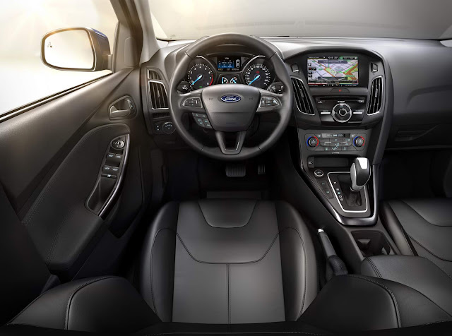 Ford Focus 2016 Fastback - interior
