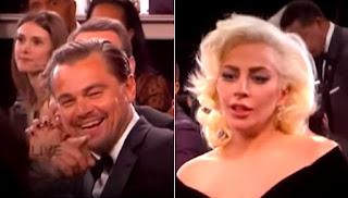 Leo DiCaprio and Lady Gaga.