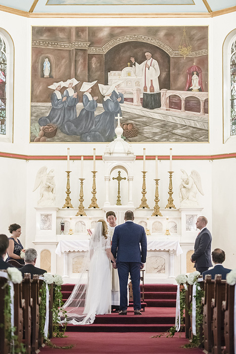 DC Wedding Photography at St. Vincent de Paul Catholic Church