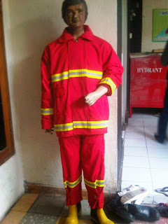 Baju Celana Fire Retardant 100%