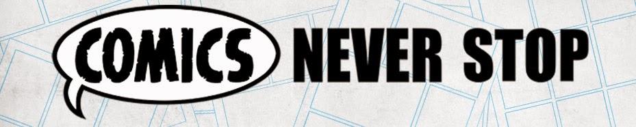 Comics Never Stop