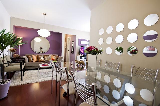 decoração com espelhos, blog de decoração