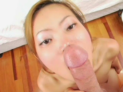 Asian girl named apple fucks a white guy
