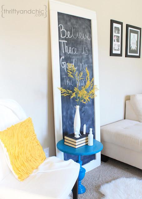 Giant Framed Chalkboard