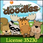 Scrappin' Doodles Graphic License for Freebies