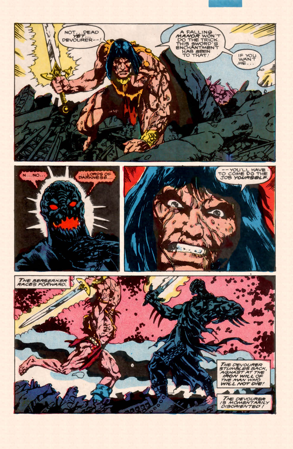 Conan the Barbarian (1970) Issue #200 #212 - English 37