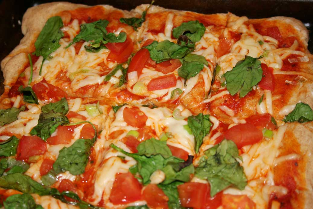 Homemade Pizza, a healthier version