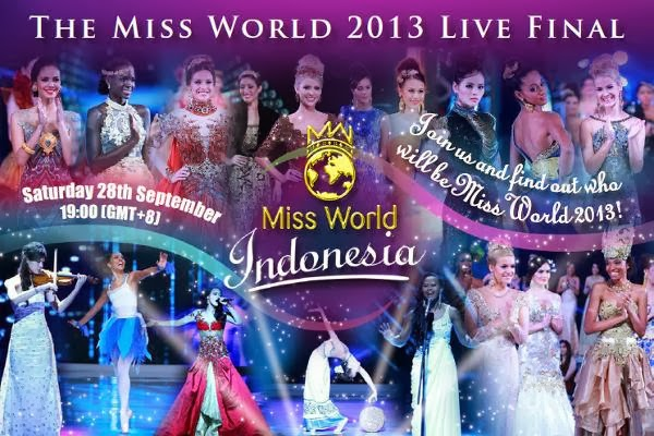 Watch 63rd Miss World 2013